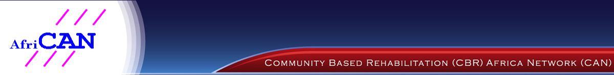Community Based Rehabilitation (CBR)