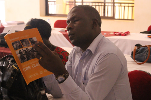 CAN distributes WHO CBR guidelines to DPOs in Uganda: