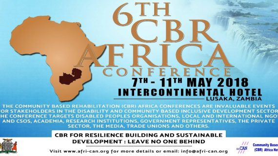 The Sixth CBR Africa Conference: Zambia 2018
