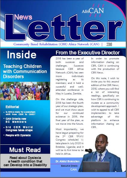 CAN Newsletters – Community Based Rehabilitation (CBR)