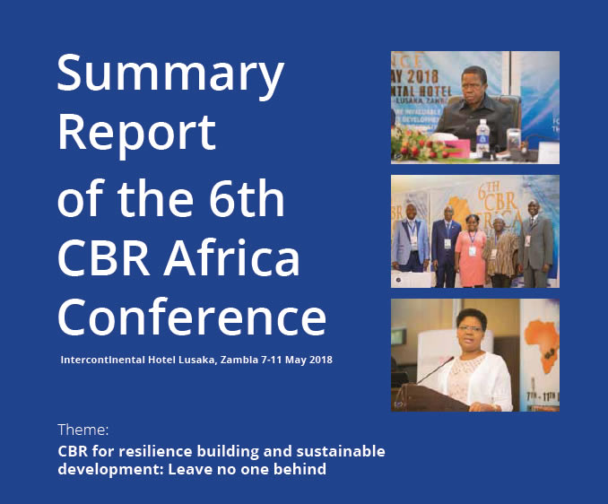 Summary Report of the 6th CBR Africa Conference