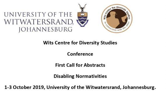 Call for abstracts for international conference at Wits Centre for Diversity Studies (WiCDS)