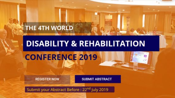 4th World Disability & Rehabilitation Conference 2019