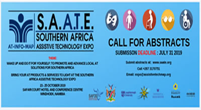SOUTHERN AFRICA ASSISTIVE TECHNOLOGY EXPO (SAATE)