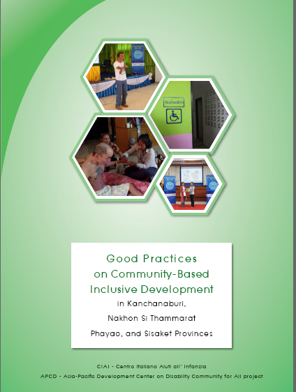 Good Practices on Community-Based Inclusive Development in Kanchanaburi,